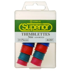 Thimblettes Superior Asst Sizes Bx10