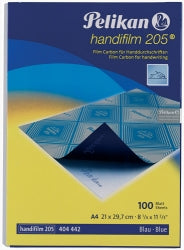 Carbon Paper A4 Blue Handifilm Pencil Bx100