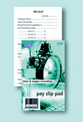 Pay Slip Pad Zions
