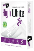 Copy Paper Victory A4 80gsm High White Pk500