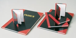 Notebook A6 Black & Red 100lf 06100