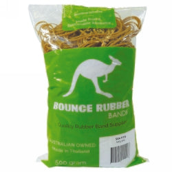 Rubber Bands Bounce 500gm Size 19