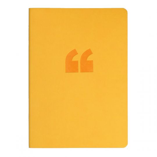 Notebook Collins A5 Edge Ruled Yellow 240pg