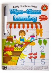 Book Lcbf Wipe Clean Learning Early Number Skills