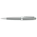 Pen Cross Polished Resin Bp Ballpoint Bailey Light Grey