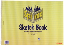 Sketch Book Spirax 533 A3 40pg