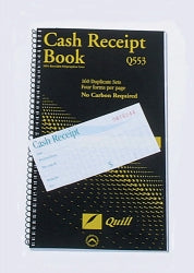 Cash Rec Book Quill Q553 4 To View