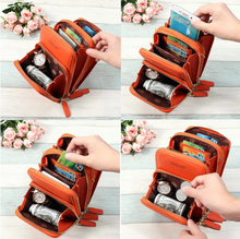 Load image into Gallery viewer, Multi-Pocket Crossbody Phone Bag