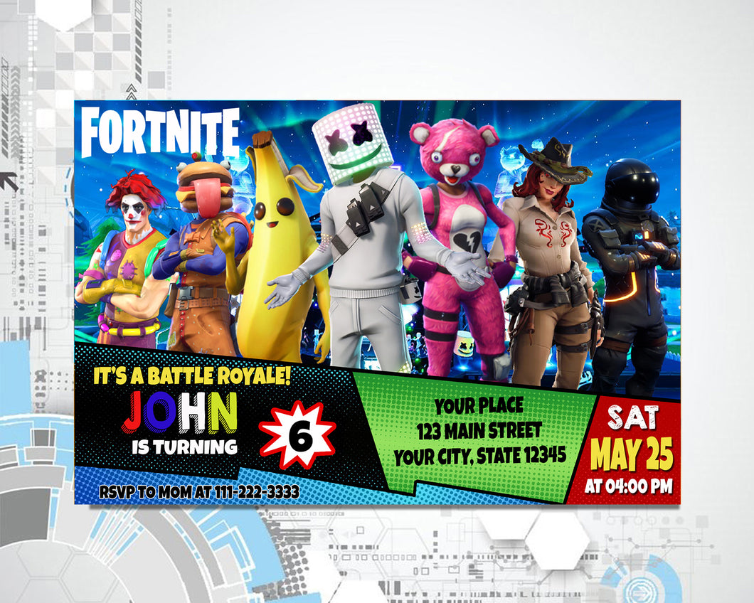 Fortnite Invitation