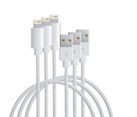 3 Pack USB Charging Cables for Apple Devices (1m/3ft) - Cellect Mobile