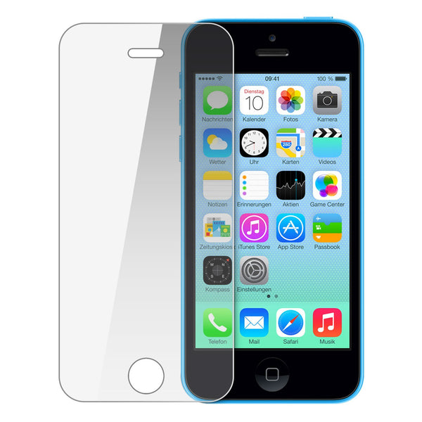 iPhone 5c Tempered Glass Screen Protector (2 Pack)