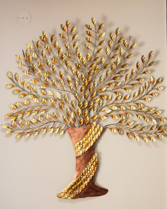 Shivay Arts Metal Contemporary Tree Wall Decor