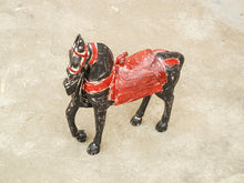 Load image into Gallery viewer, wooden distress finish horse showpiece figurine home decor