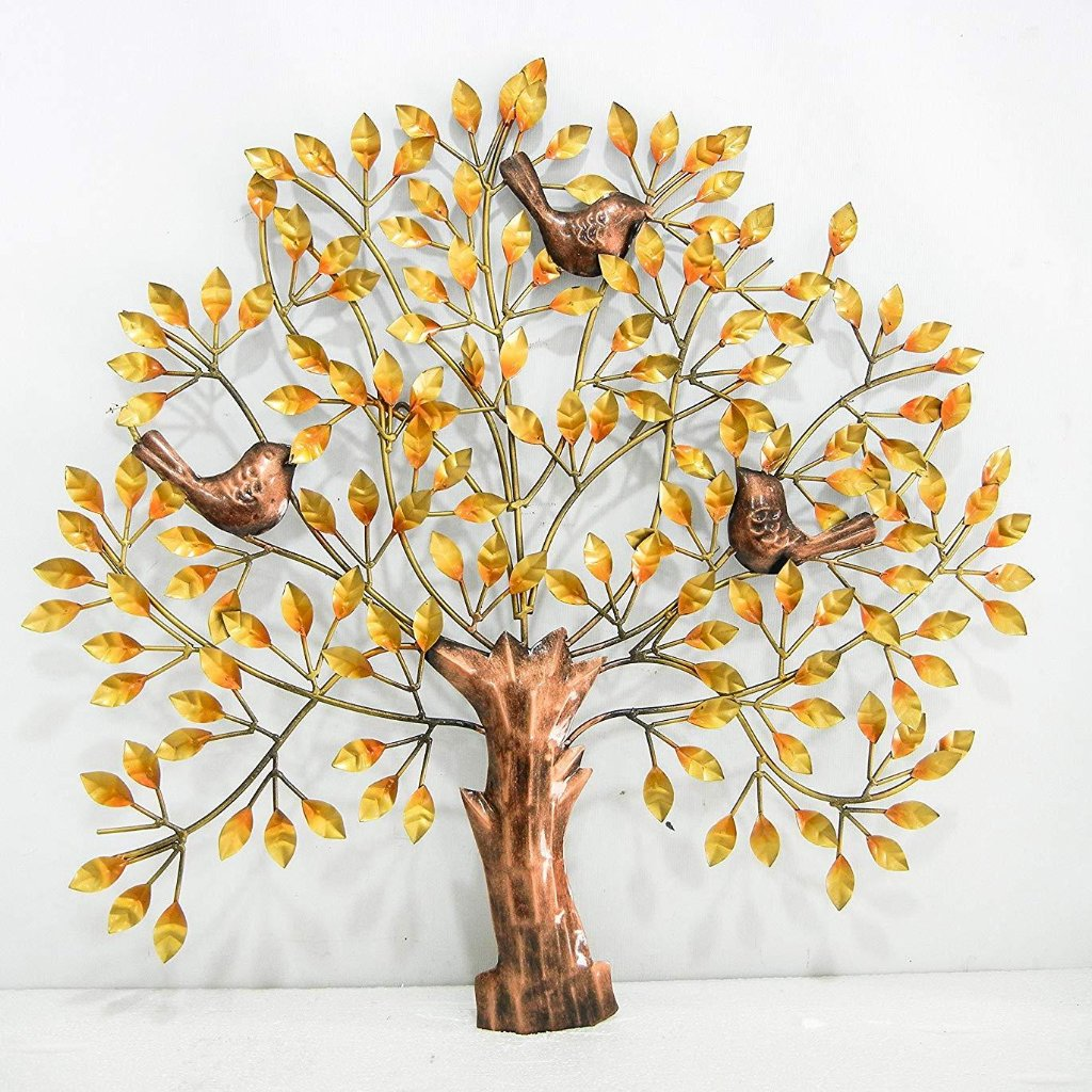 metal iron tree wall decor wall hanging