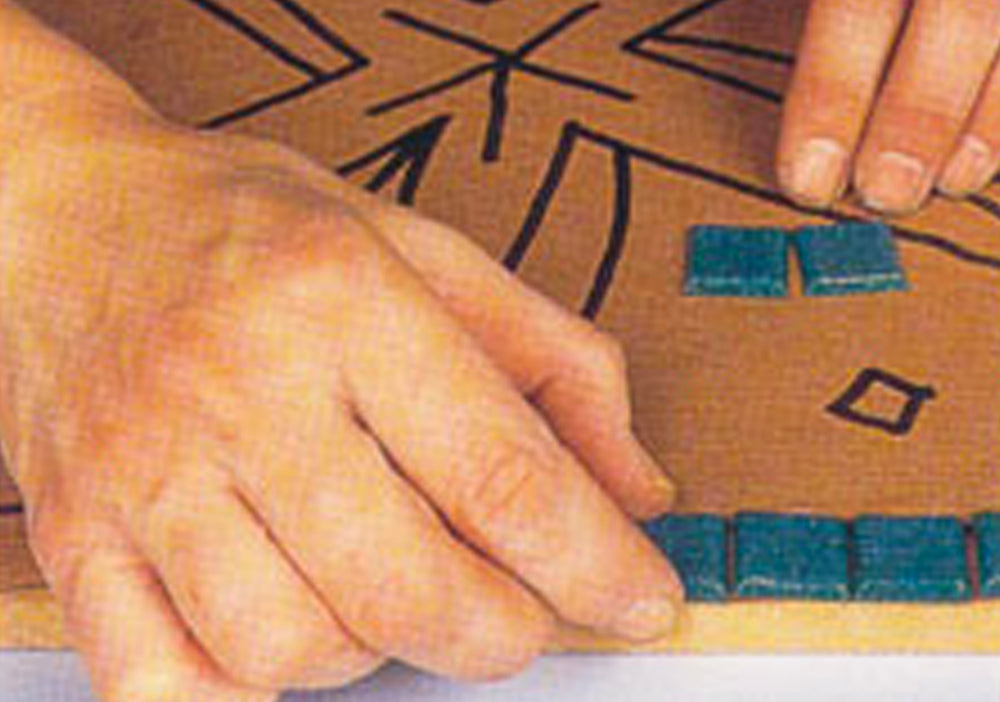 Preparations, Surfaces & Methods to Mosaic Art