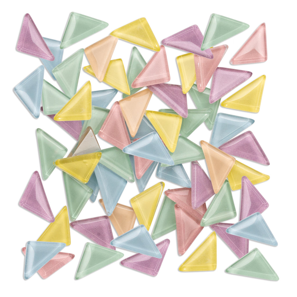 Assorted Pastel Triangles 250g