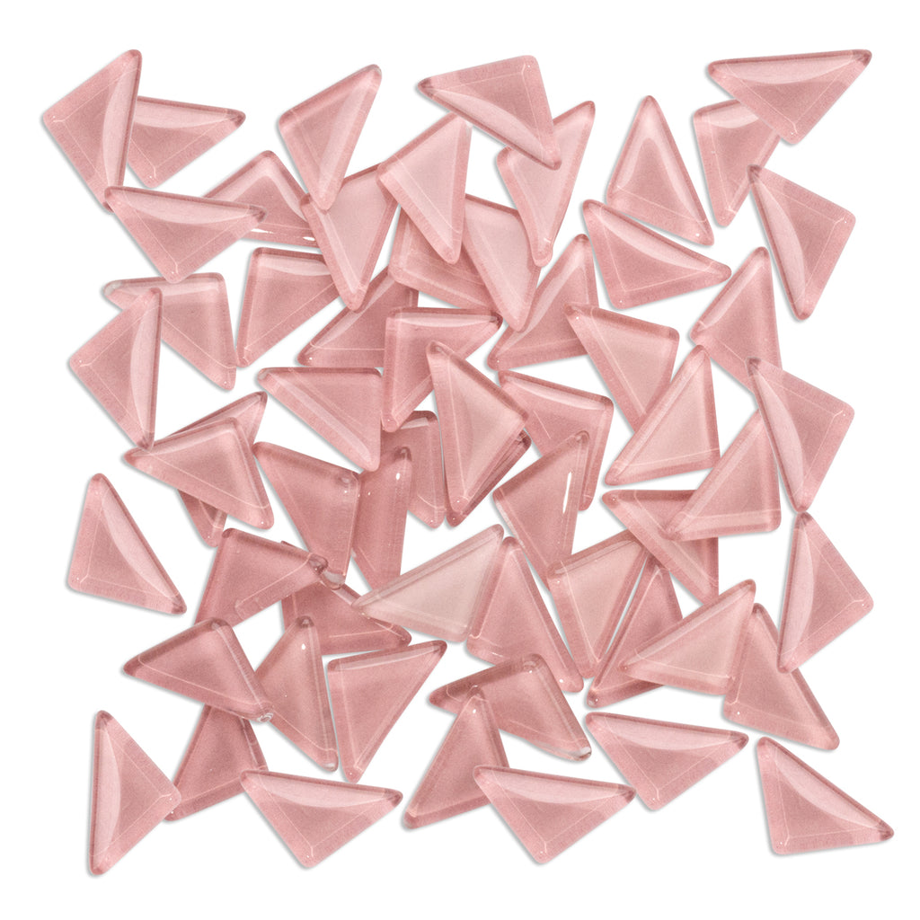 Rose Pink Triangles 250g