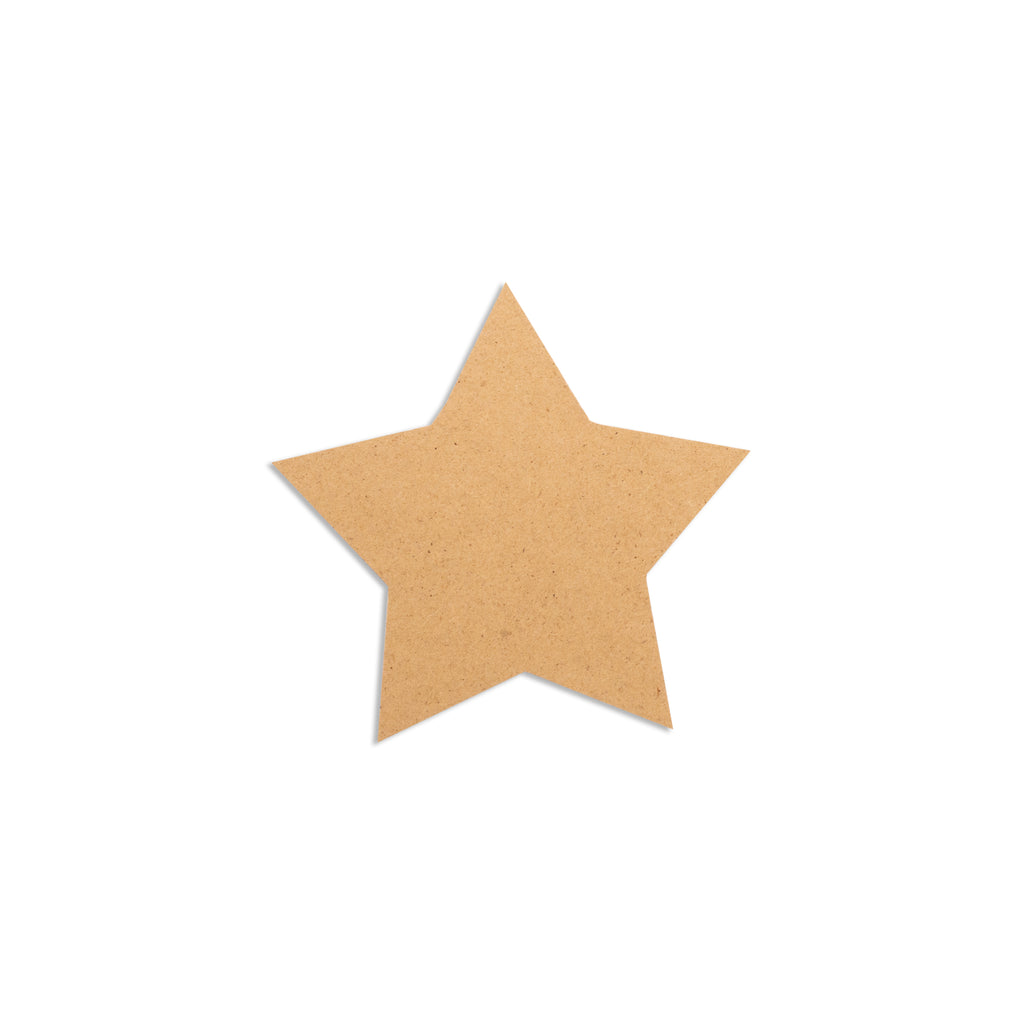 Star Shaped MDF Coaster Base