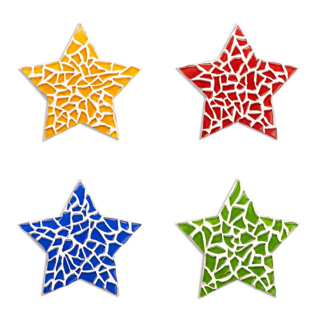Mosaic Star Coaster Kit