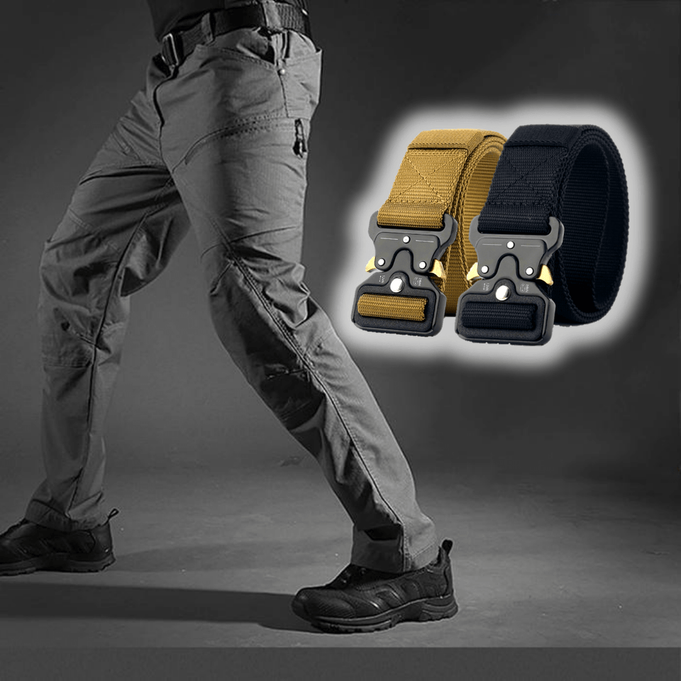 BUY RAPTOR TACTICAL PANTS, GET 2 FREE STEALTH BELTS