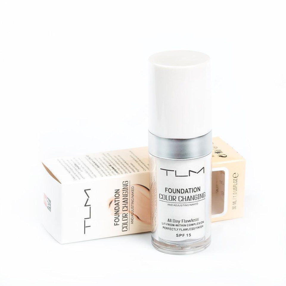 TLM COLOR CHANGING FOUNDATION SPF 30ML | BUY 1, GET 2 FREE