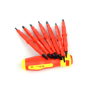 Dual Head Insulated Screwdriver 7pc Kit