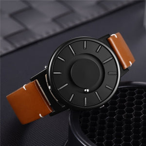 Magnetic Sphere Stainless Steel Watch