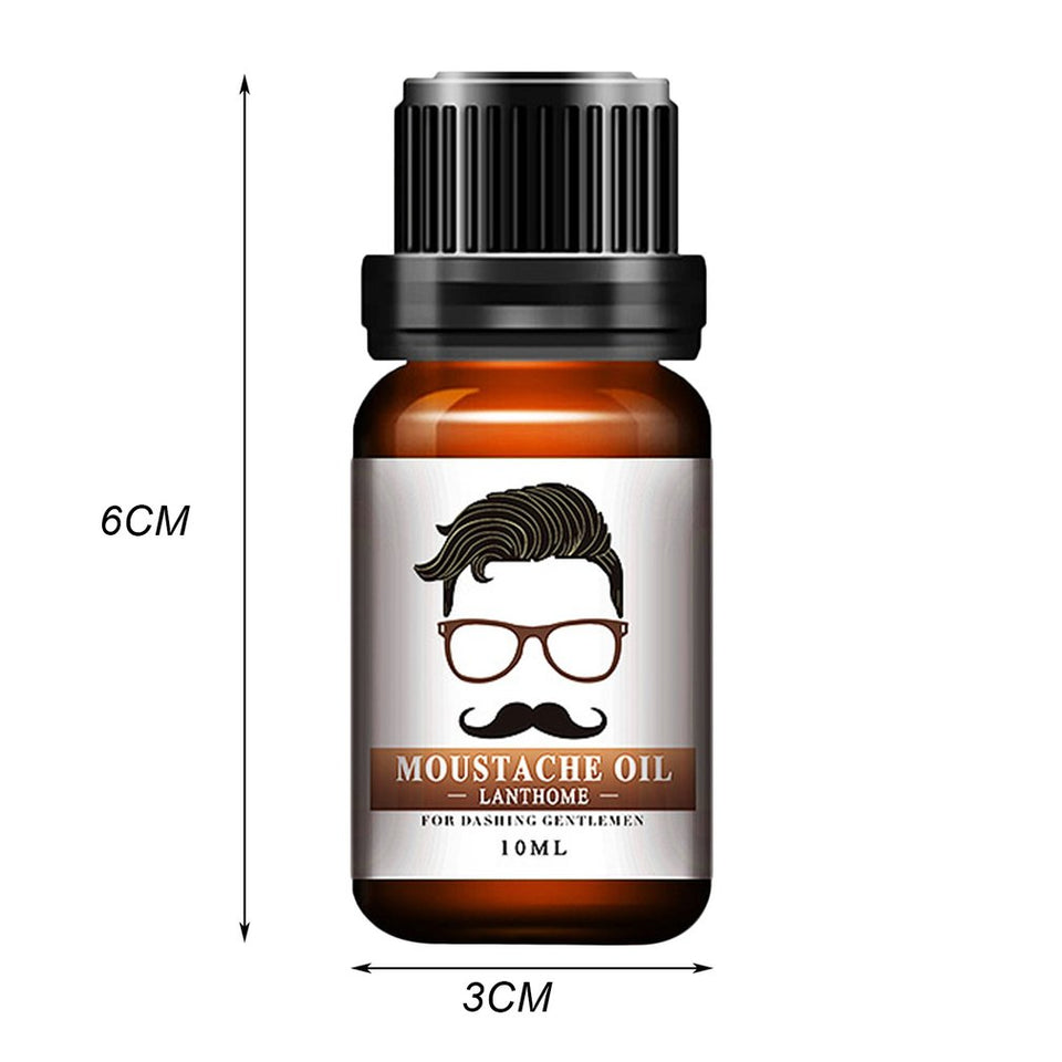 Gentleman's Beard & Moustache Growth Essence | BUY 1, GET 2 FREE