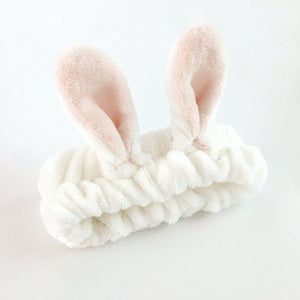 Microfiber Makeup & Face Washing Bunny Headband | BUY 1 GET 2 FREE