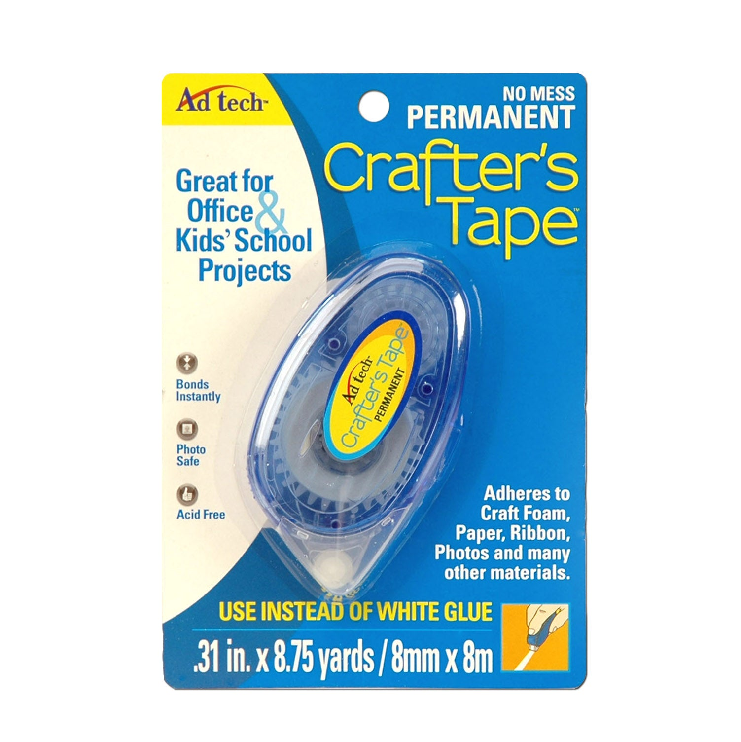 Permanent Glue Runner Crafter's Tape