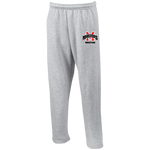 MM Wrestling Open Bottom Sweatpants with Pockets