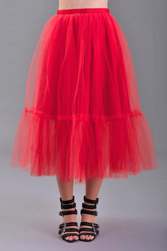 Gonna in tulle midi SINDY