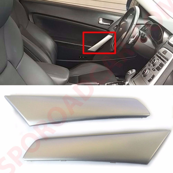 Inside door Grip handle outer cover For Hyundai 2009-2012 Genesis Coupe OEM Parts 823722M000S4, 823822M000S4