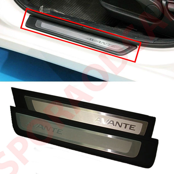 Front Side Door Scuff Plate LH RH 2P For Hyundai 2014-2015 Elantra / Avante MD  OEM Part 858723X800RY, 858823X800RY