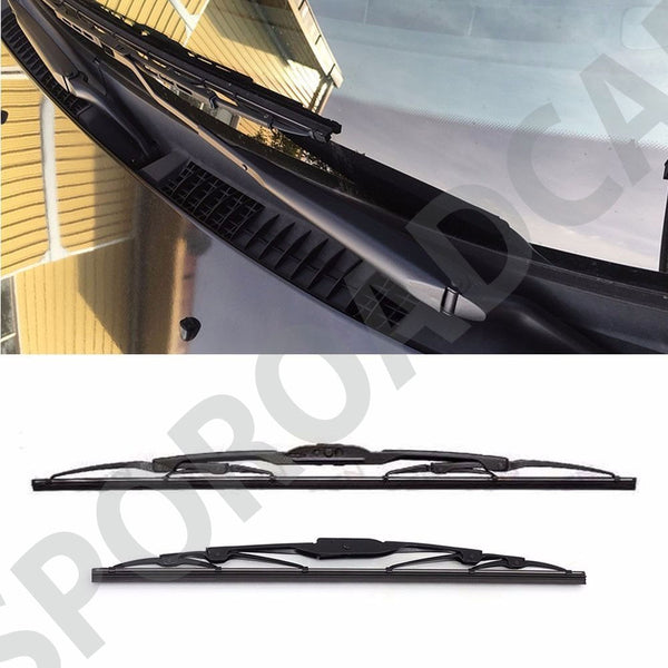 Front Windshield Wiper Set LH RH 2P For Hyundai 1999-2005 Azera Grandeur XG OEM Part 9835038000, 9836038000