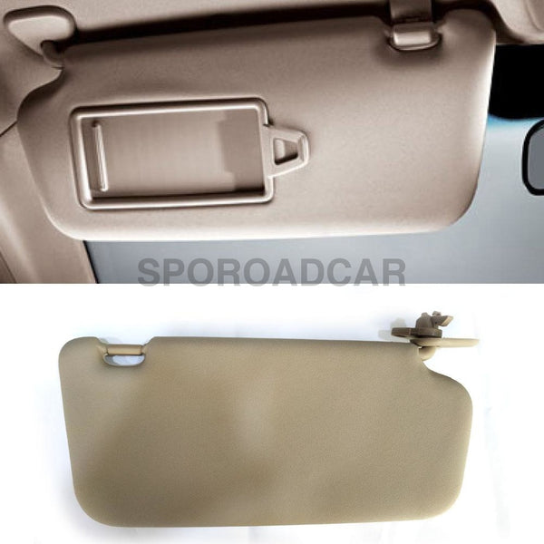 Front Inside Sun Visor Lh 1P Beige For Hyundai 2006-2010 Accent Verna Oem Part 852101E020Or