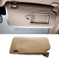 Front Inside Sun Visor Rh 1P Beige For Hyundai 2006-2010 Accent Verna Oem Part 852201E020Or