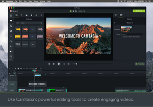 Camtasia 2019 for MacOS Retail Download