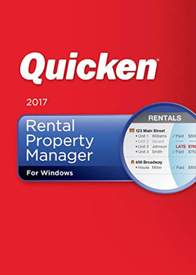 Quicken Rental Property Manager 2017 Download for Windows