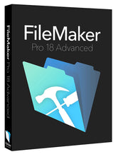 Load image into Gallery viewer, FileMaker Pro 18 Advanced for Windows and MacOS Download