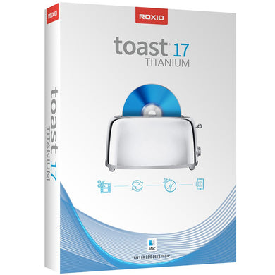 Toast 17 Titanium CD / DVD Burning Suite for Mac Download