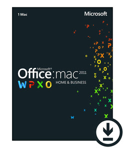 Microsoft Office Home and Business 2011 for MacOS