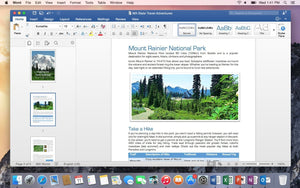 Microsoft Office 2016 Home and Student for MacOS