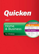 Load image into Gallery viewer, Quicken Home and Business 2017 Retail Edition Download Windows