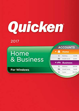 Quicken Home and Business 2017 Retail Edition Download Windows