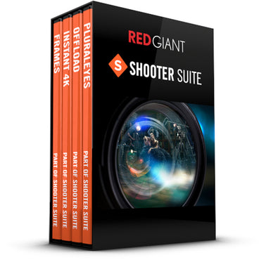 Red Giant Shooter Suite 13 for Windows and MacOS Download