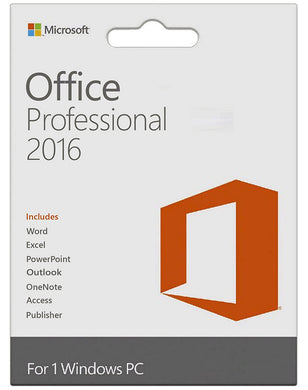 Microsoft Office 2016 Professional Plus for Windows Download