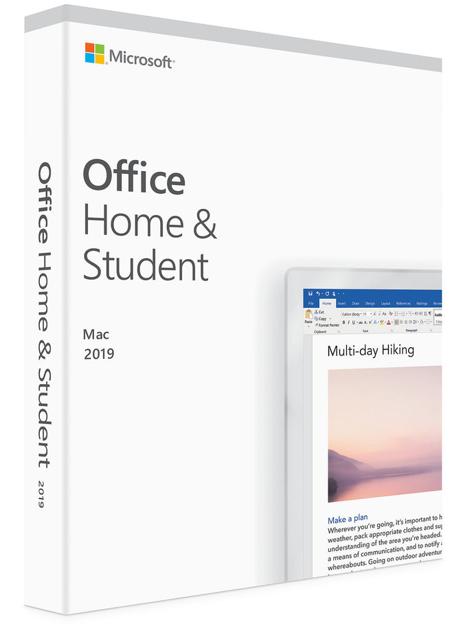Office Home and Student 2019 for MacOS