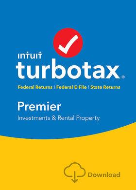 TurboTax Premier 2016 for Windows and MacOS Download