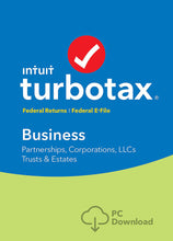Load image into Gallery viewer, TurboTax Business 2018 for Windows Download